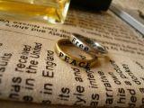 Ringe für Frauen-reizenden Retro Wunsch 8X bezeichnet heiße Paar-Ringe mit Buchstaben
