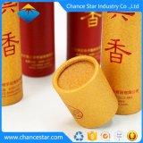 Kundenspezifisches rundes Pappgefäß, das für Duft verpackt