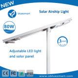 1つの太陽製品LEDの街灯80Wのセンサーすべて
