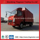 Carro ligero del rectángulo de China HOWO 4X2 5 toneladas para la venta
