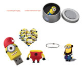 Despreciable Me Cute Minions PVC / Caucho USB 1GB-64GB