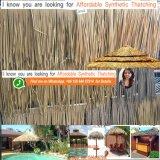 Chaume africaine carrée 48 de l'Afrique de hutte personnalisée par hutte africaine tubulaire ronde synthétique ignifuge de chaume de chaume de Viro de chaume de paume