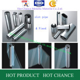 SUS 304, Schlitz-Rohr des Edelstahl-316 für Glashandlauf