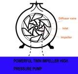 Projeto novo 2 polegadas - bomba de água elevada da gasolina da pressão com dois Impellors (WP20H)