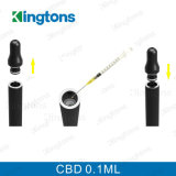 Kingtons 우수한 E 담배 0.1ml 기름 Cbd Vape 펜