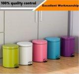 Jobstepp-Typ Qualitäts-Edelstahl-Abdeckung-Mülleimer des Fuss-3L