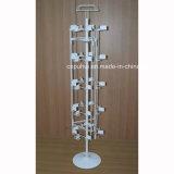 Giratoria de metal pegatinas soporte de exhibición (PHY2048)