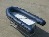 Barco de motor do reforço de Aqualand 10feet 3m/barco de pesca inflável rígido (RIB300)