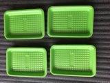 De grado alimentario absorbente ecológica desechables de espuma de poliestireno EPS bandejas de embalaje de alimentos