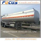 40-60 reboque do petroleiro do combustível da liga de alumínio da capacidade de Cbm para a venda