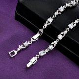 女性のためのCZのブレスレットが付いている方法模造真鍮の宝石類