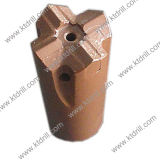 45mm 51mm 60mm 64mm 76mm de rosca Cross Hard Rock Drilling Bit