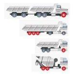 425/65r22.5 gomma, tutto il reticolo di posizione, gomma avanti/stop del camion della strada