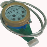 Household single jet Dry dial Brass Body Water meter
