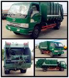 Faw 4X2 180HP komprimierter Abfall-LKW