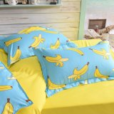 Coperchi poco costosi del Duvet delle lenzuola dell'insieme di camera da letto del poliestere
