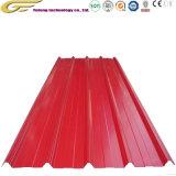 Strato d'acciaio preverniciato del tetto del metallo del comitato/colore del tetto del metallo