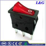 CQC/UL/ENEC 전력 16A250VAC T125는 로커 스위치를 분명히한다