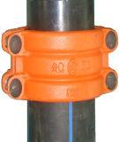 Schelle, Reparatur-Muffe, Reparatur-Hülse, aufgeteilte Muffe reparieren für PET, Belüftung-Rohr, Onlineleck-Reparatur