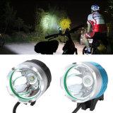 USB 5V recarregável CREE Xm-L T6 Bike Light 1600lm Max LED Bike Light