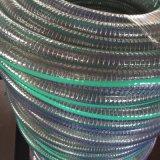 大口径のためのAnti-Abrasion適用範囲が広いPVC鋼線の補強されたホースの管