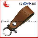 Fabrik-Preis-Großverkauf-Drucken-Firmenzeichen-Leder Keychain