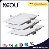 6W 9W 12W 15W 18W квадратные светодиодные панели