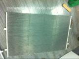 Microchannel van de parallel-Stroom van het Water van de Warmtepomp Verwarmer Gebruikte Condensator