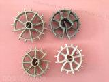 Plasti Cwheel, het Plastic Concrete Gieten van de Stoel van de Staaf van het Staal van het Verbindingsstuk