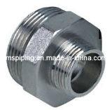 Ajustage de précision de compression dans le laiton pour les pipes multicouche - double droit masculin