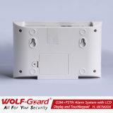 Новая GSM +PSTN системы охранной сигнализации с ЖК-дисплеем и сенсорной клавиатуры