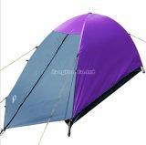 Один человек двойной многослойных фиолетовый кемпинг палатки, на улице четырех сезонов палатки