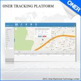 O software de monitoramento em tempo real do sistema de localização por satélite GPS