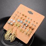 20 PAREJAS Pack conjunto Brincos Stud Earrings mixtos para la Mujer