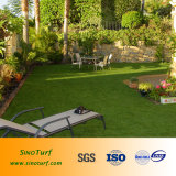Tatto morbido che modific il terrenoare erba artificiale per la piscina, giardino, lato della strada