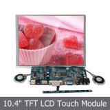 Монитор дюйма SKD сенсорного экрана 10.4 USB индикации 800*600 LCD