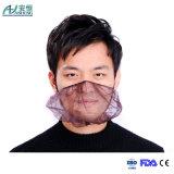 Одиночная эластичная хирургическая крышка бороды для защищать