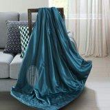 Cobertor de seda da seda do Throw do fundamento de seda de linho de base de Hotsale Oeko-Tex 100 da neve de Taihu