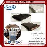 Panneau minéral acoustique de plafond suspendu de fibre pour le matériau décoratif