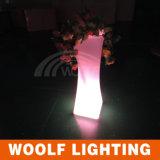 Événement de mariage Décoration de fête Changement de couleur Pot de fleurs LED