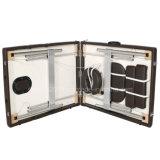 Nuevo diseño del bastidor de madera PU Leather Transm04 Camilla de masaje portátiles