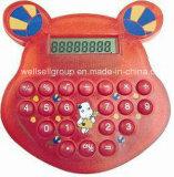 Calcolatore Pocket del fumetto/calcolatore tenuto in mano per promozionale