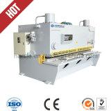 Máquina de corte hidráulica do CNC da placa do ferro 4*3200 controlada por Estun