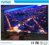 Visualización de poste fija de interior de iluminación del jugador de la visualización de LED de la instalación de P4mm