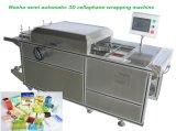Semi автоматическая машина для упаковки целлофана 3D