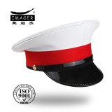 Moderner BRITISCHER königlicher weißer Marine-Kapitän Hut