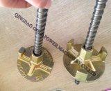 Tige de renfort concret de matériel de HDG amorçage de haute résistance convenable de tige de renfort