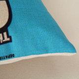 Digitahi stampate personalizzano la tela decorativa del cotone del coperchio dell'ammortizzatore della cassa del cuscino del tessuto