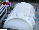Tenda gonfiabile gigante bianca con la falda per la corte o l'evento di tennis