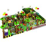 Forêt de l'équipement de terrain de jeux intérieure de la série
